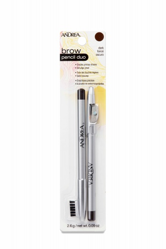 Andrea Brow Pencil Duo, Dark