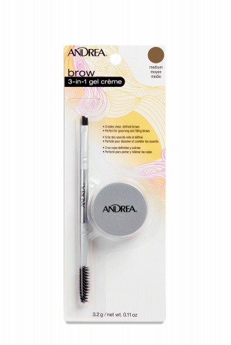 Andrea Brow 3 n 1 Gel Creme, Medium