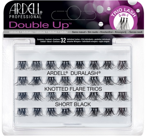 Ardell Professional Double Trio Individual Short Black (66493)