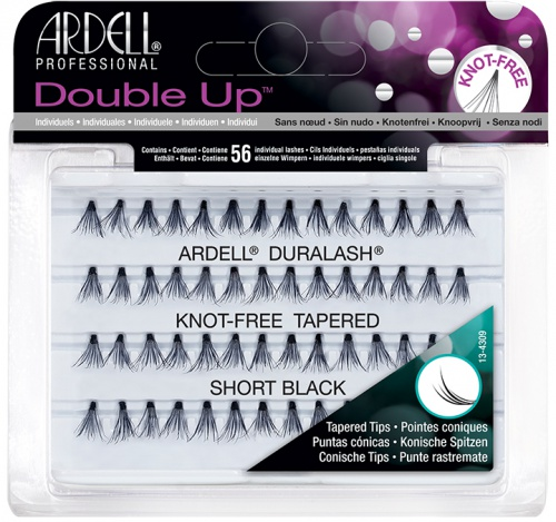Ardell Soft Touch Double Knot-Free Short Black