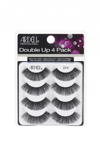 Ardell Double Up 4 Pack Lash 204 Multipack  (66691)