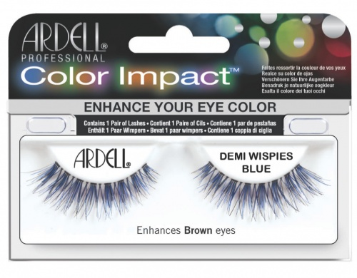 Ardell Professional Color Impact Demi Wispies BLUE